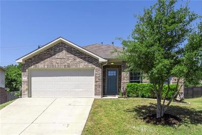 Round Rock Single Family Home For Sale: 1576 Haynie Bnd