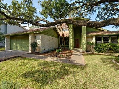 Austin Single Family Home For Sale: 6525 Heron Dr