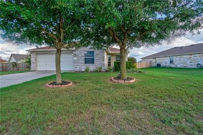 Jarrell Single Family Home For Sale: 328 Engineers Pass