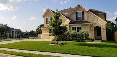 Leander Single Family Home Pending - Taking Backups: 4401 Cherry Bark Dr