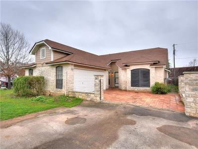 Round Rock Single Family Home Pending - Taking Backups: 517 Edwards Dr