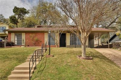Austin TX Single Family Home Pending - Taking Backups: $499,999