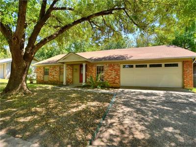 Austin Single Family Home Pending - Taking Backups: 9709 Ochiltree Dr
