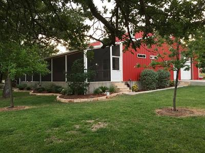 Lampasas County Single Family Home Active Contingent: 12899 W Fm 580