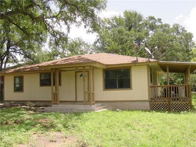 Spicewood Single Family Home For Sale: 609 Littlewin