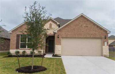 Round Rock Single Family Home For Sale: 8073 Massa Dr