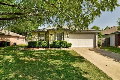 Round Rock Single Family Home Pending - Taking Backups: 1812 Hollow Tree Blvd