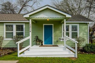 Austin Single Family Home For Sale: 1314 E 13th St