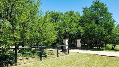 Liberty Hill Single Family Home Pending - Taking Backups: 219 Quarterhorse Dr