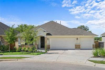 Leander Single Family Home For Sale: 2525 Coralbush Dr