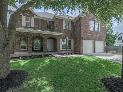Pflugerville Single Family Home Pending - Taking Backups: 407 Bellaire Oaks Dr