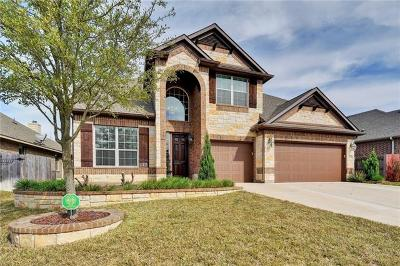 Cedar Park Single Family Home For Sale: 1408 Rimstone Dr