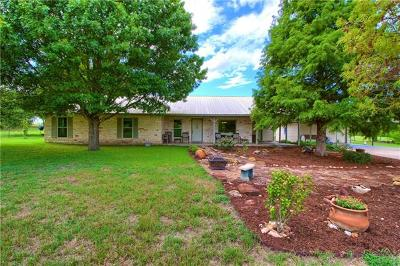 Bastrop County Single Family Home For Sale: 422 Pleasant Grove Rd