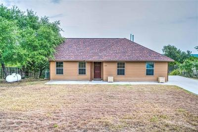 Dripping Springs TX Single Family Home For Sale: $252,000