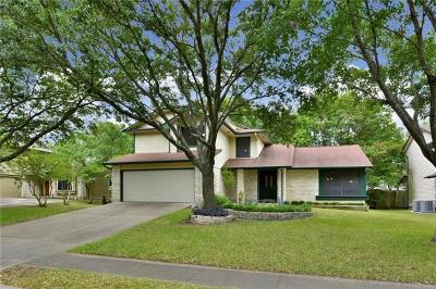 Austin Single Family Home For Sale: 2301 Broughton Ct