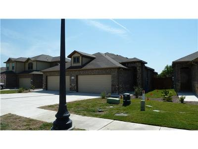 Hutto Rental For Rent: 1424 Muirfield Bend Dr #B