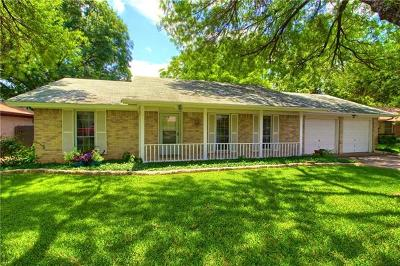 Travis County Single Family Home For Sale: 1015 Red Cliff Dr