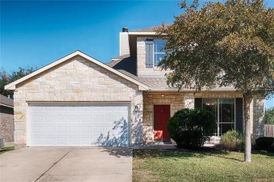 Cedar Park Single Family Home For Sale: 3717 Juniper Hills St