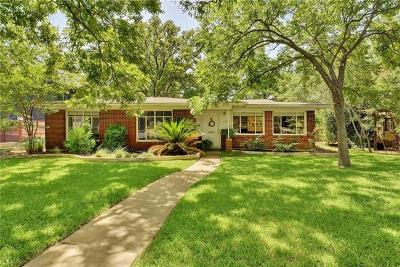 Austin Single Family Home For Sale: 6006 Shoal Creek Blvd