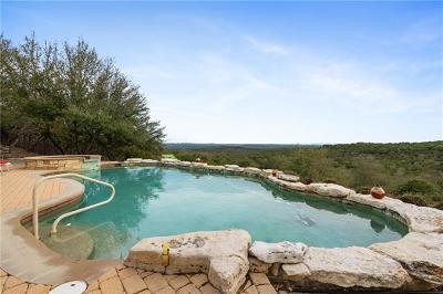 Marble Falls Single Family Home For Sale: 25501 Singleton Bend East Rd