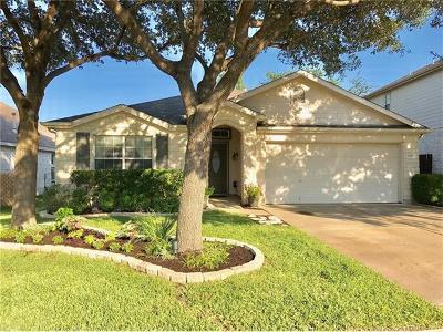 Cedar Park TX Single Family Home Pending - Taking Backups: $279,000