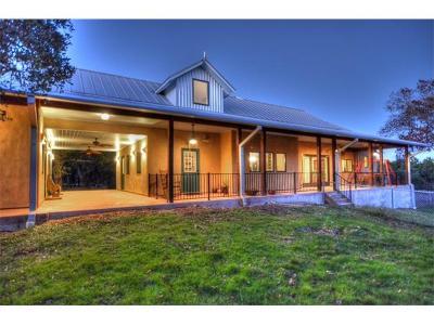 Leander Single Family Home Active Contingent: 16401 Big Oak Cir