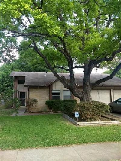 Austin Single Family Home For Sale: 6208 Woodhue Dr
