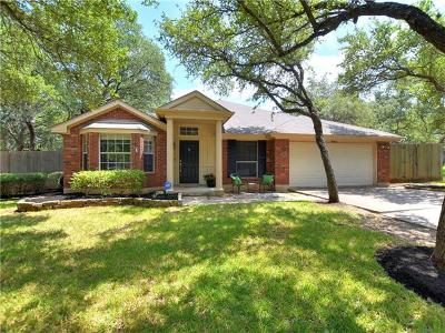 Austin Single Family Home For Sale: 8003 Caribou Parke Cv