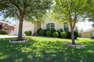 Leander Single Family Home For Sale: 2500 Branding Iron Ln