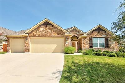 Pflugerville Single Family Home Active Contingent: 3116 Pasqueflower Pass