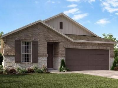 Round Rock Single Family Home For Sale: 2412 Hat Bender Loop
