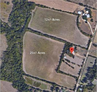 Bell County, Burnet County, Coryell County, Lampasas County, Llano County, McLennan County, Mills County, San Saba County, Williamson County Farm For Sale: TBD Gun Club Rd