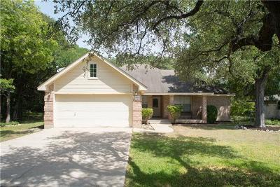 Cedar Park Single Family Home Pending - Taking Backups: 1103 S Riviera Cir