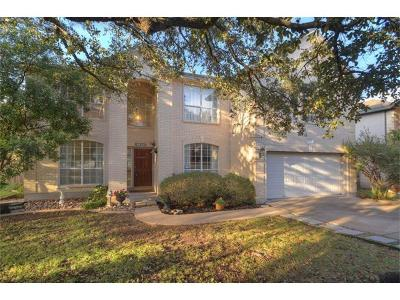 Round Rock Single Family Home For Sale: 1604 Blackjack Dr