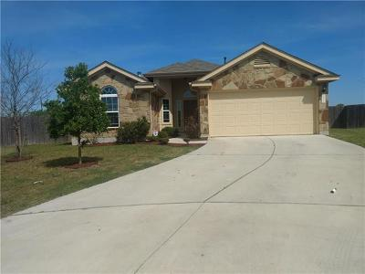 Elgin Single Family Home Pending - Taking Backups: 14512 Martial Eagle Dr