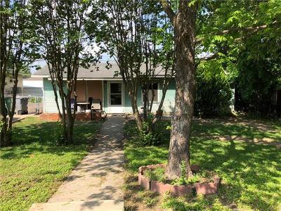 Austin TX Single Family Home For Sale: $450,000