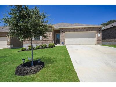 Leander Single Family Home Pending - Taking Backups: 108 Golden Butterfly Dr