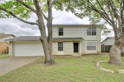Round Rock Single Family Home For Sale: 1402 London Rd
