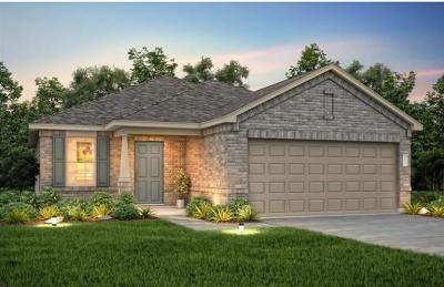 Manor Single Family Home For Sale: 11612 Jackson Falls Way