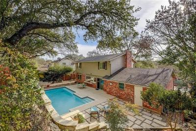Travis County, Williamson County Single Family Home Pending - Taking Backups: 5807 Highland Hills Dr