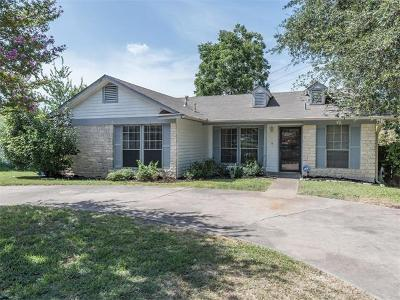 Travis County Single Family Home Pending - Taking Backups: 203 E Garrett Run