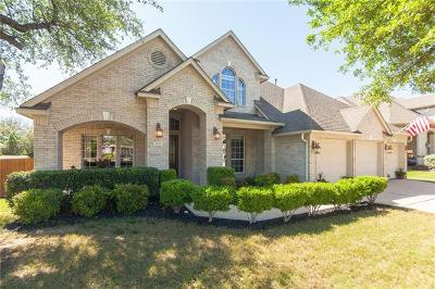 Round Rock Single Family Home For Sale: 4124 Massey Way