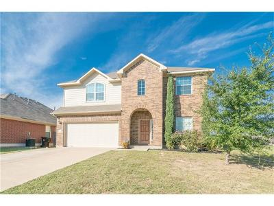 Round Rock Single Family Home For Sale: 1233 Rainbow Parke Dr