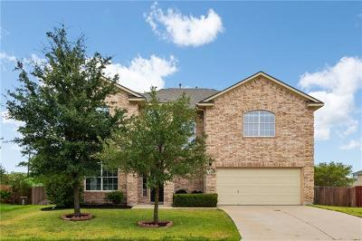 Pflugerville Single Family Home Pending - Taking Backups: 18433 Dry Brook Loop
