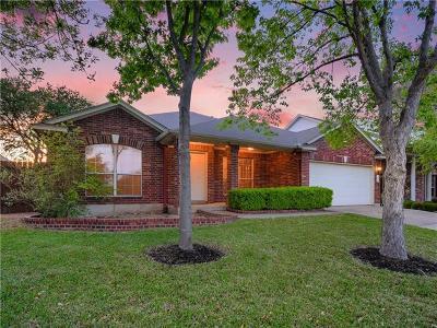 Cedar Park Single Family Home For Sale: 2219 Zoa Dr