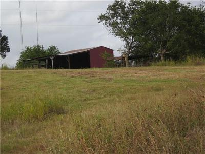Burnet County, Lampasas County, Bell County, Williamson County, llano, Blanco County, Mills County, Hamilton County, San Saba County, Coryell County Farm For Sale: 1603 County Road 336