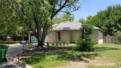 Round Rock Single Family Home Pending - Taking Backups: 1009 Rolling Green Dr