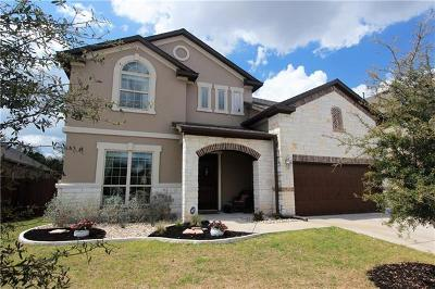 Leander Single Family Home For Sale: 2301 Manada Trl