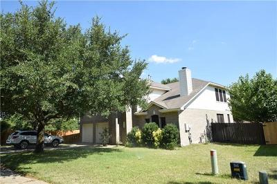 Travis County Single Family Home Pending - Taking Backups: 3519 Ribbon Reef Ln