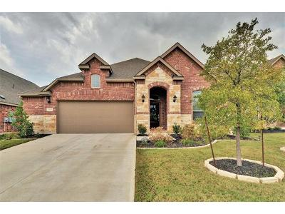 Pflugerville Single Family Home For Sale: 3109 Cotton Blossom Way